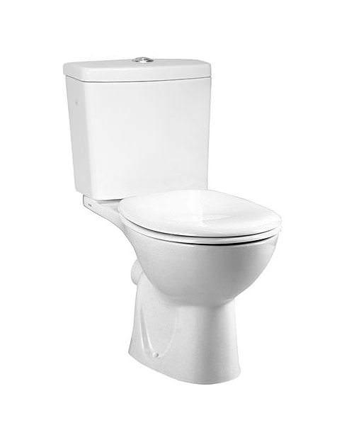VitrA Layton 670mm Close Coupled WC Pan