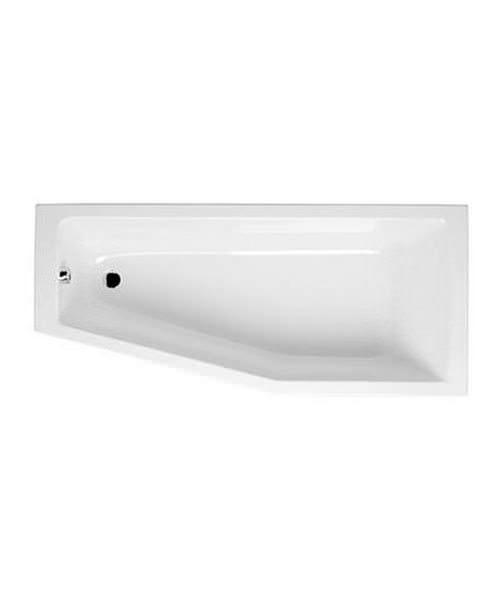 VitrA Neon 1700 x 750mm Space Saver Acrylic Corner Bath