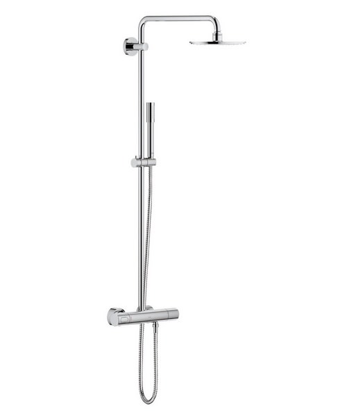 Grohe Spa Rainshower Wall Mounted Shower System With Thermostat