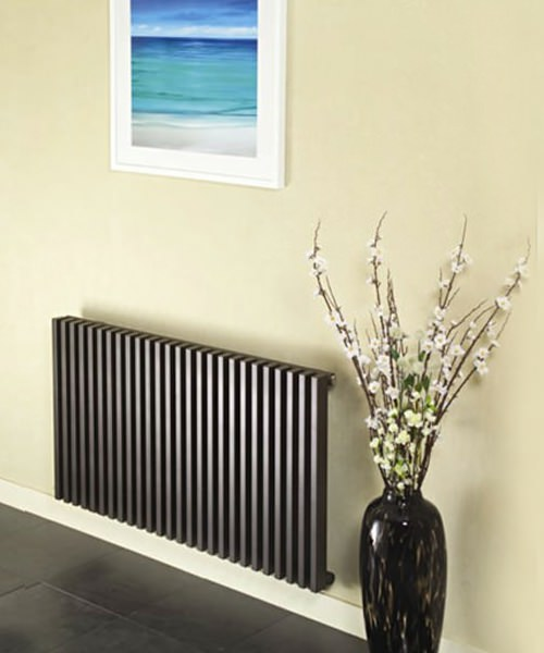 Apollo Bassano White Horizontal Double Radiator 1200 x 600mm