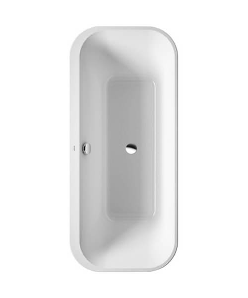 Duravit Happy D2 1800 x 800mm Lay On Version Bath