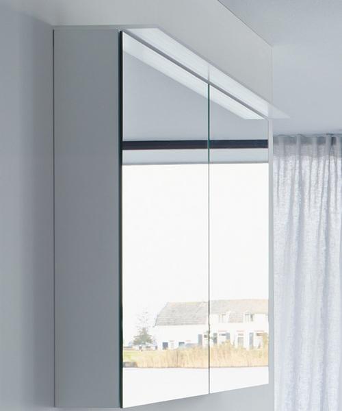 Duravit Happy D2 Gloss Mirror Cabinet - White 1000mm