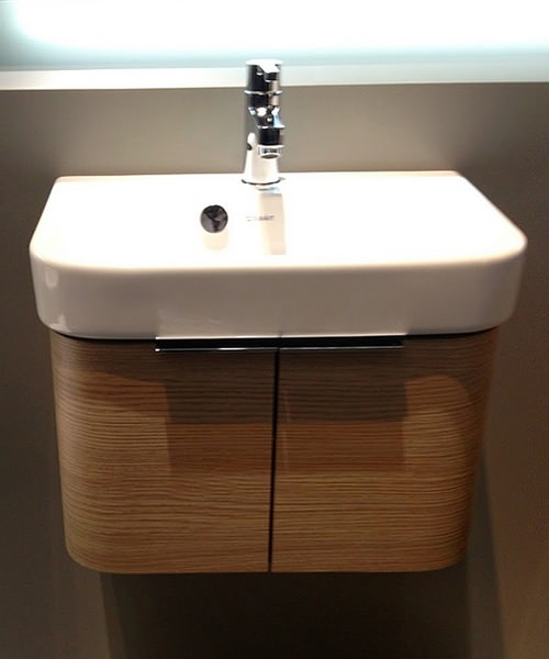Duravit Happy D2 Vanity Unit Two Doors 475 x 350mm And Basin