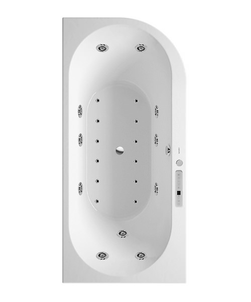Duravit Darling New 1900mm Corner Left Bath With Combi-System L