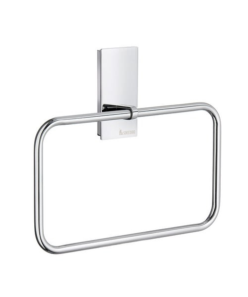 Smedbo Pool Polished Chrome Towel Ring