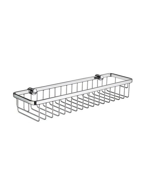 Smedbo Sideline 400mm Straight 1 Level Soap Basket