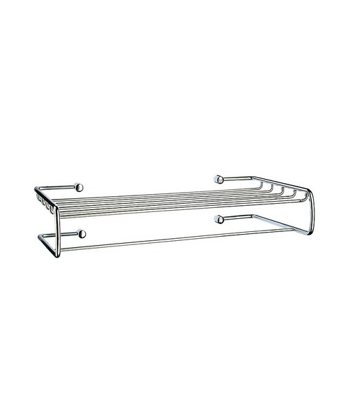 Smedbo Sideline Polished Chrome Towel Rack And Rail
