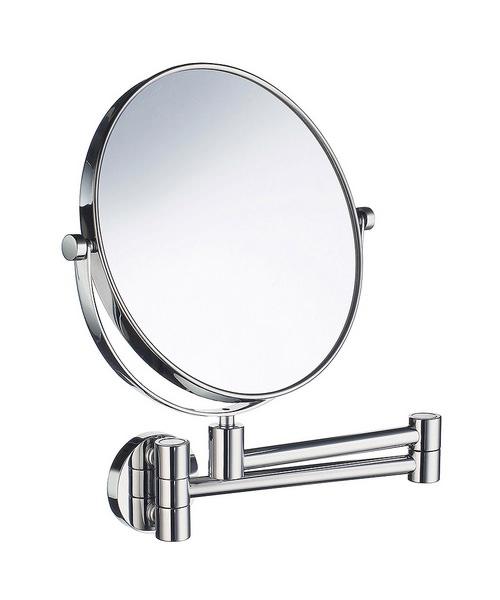 Smedbo Outline 200mm Swivel Arm Shaving And Make-Up Mirror