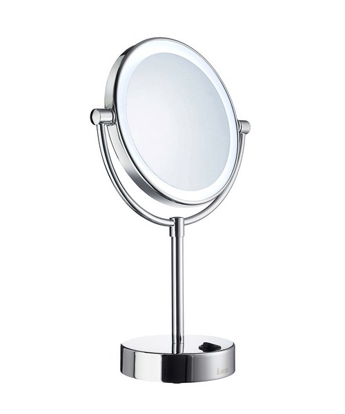 Smedbo Outline 180mm LED Shaving And Make-Up Round Mirror