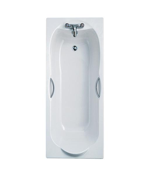 Ideal Standard Alto 170cm x 70cm Idealform 2 TH Bath With Handgrips