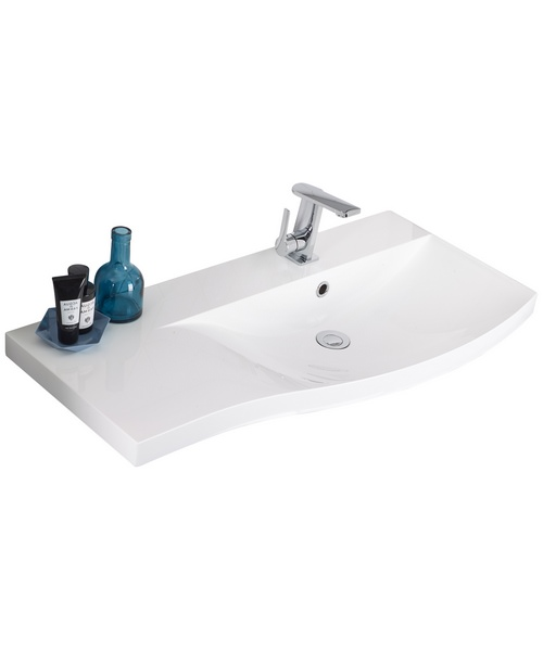 Roper Rhodes Serif 900mm Isocast Gelcoat Right Hand Basin For Furniture