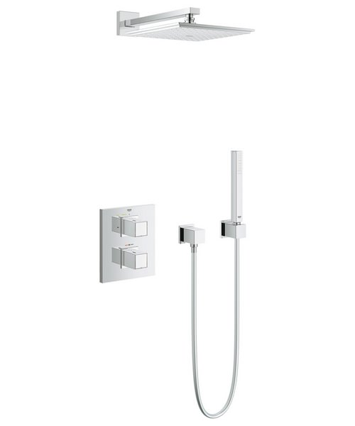 Grohe Grohtherm Cube Concealed Thermostatic Shower Bundle