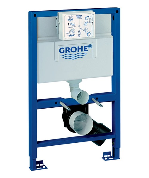 Grohe Rapid SL 0.82m High Wall Hung WC Frame And Cistern