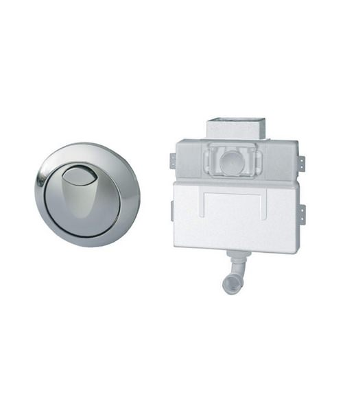 Grohe Eau2 0.82m Concealed Dual Flush WC Cistern With Air Button
