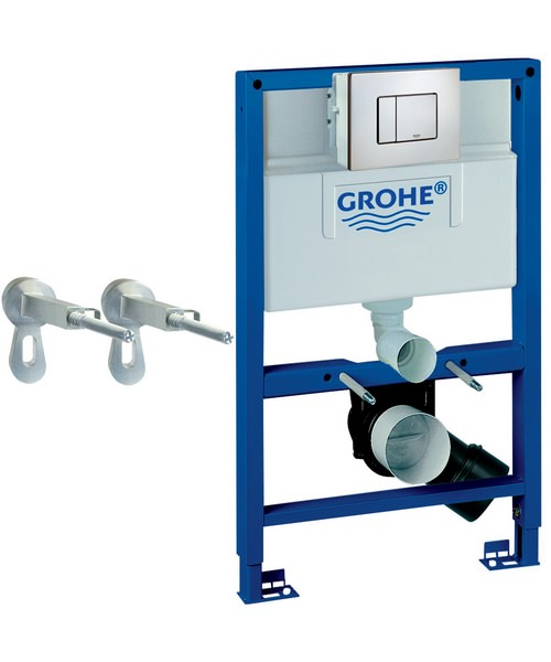 Grohe Rapid SL 3 In 1 Set For WC With Flushing Cistern - By Grohe