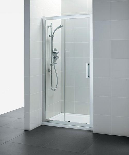 Ideal standard synergy 1400mm sliding shower door for 1400mm sliding shower door