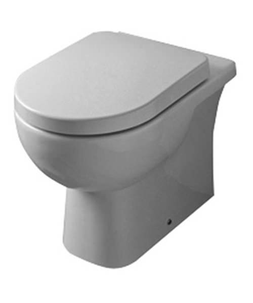 Essential Lily WC Pan Back To Wall Only
