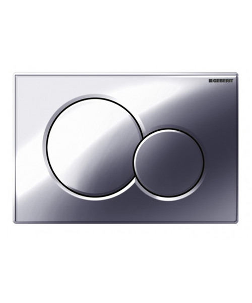 geberit sigma01 gloss chrome dual flush plate. Black Bedroom Furniture Sets. Home Design Ideas