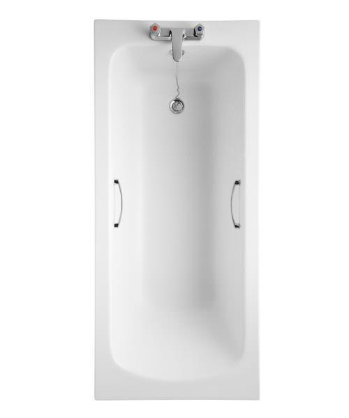 Armitage Shanks Sandringham 21 White Bath With HandGrips 1600 x 700mm
