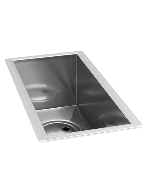 Abode Matrix R0 Stainless Steel Undermount Half Bowl Kitchen Sink