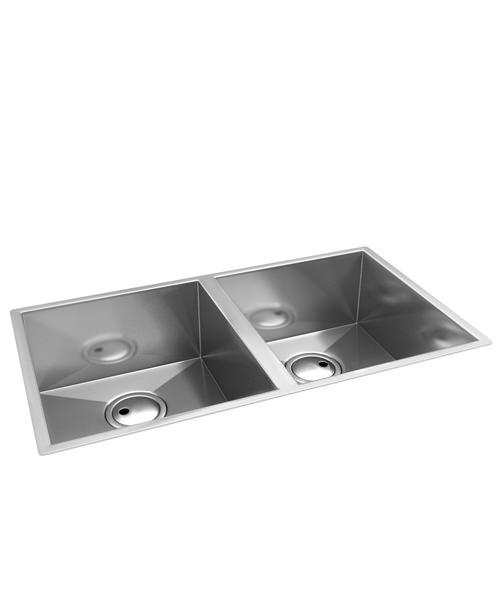 Abode Matrix R0 2.0 Square Bowl Stainless Steel Undermount Kitchen Sink