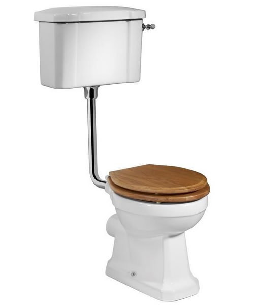 Tavistock Vitoria WC Pan With Low Level Cistern And Fittings