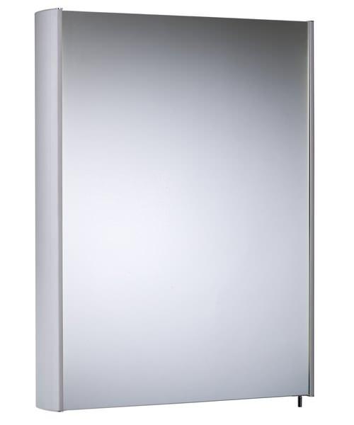 Tavistock Move Single Mirror Door Aluminium Cabinet 482 x 700mm