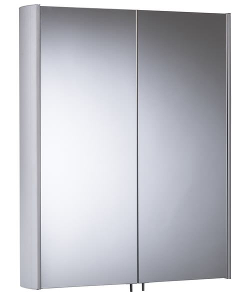 Tavistock Move Double Mirror Door Aluminium Cabinet