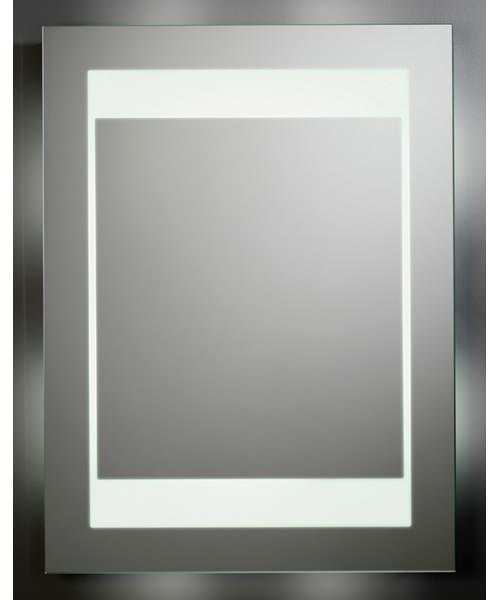 Tavistock transform backlit bathroom mirror 600 x 800mm for Mirror 800 x 600