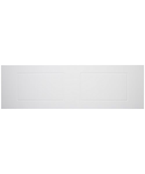 Tavistock Meridian Routed White Finish Front Bath Panel 1700mm