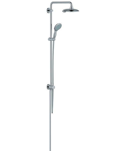 grohe spa power and soul shower system with diverter. Black Bedroom Furniture Sets. Home Design Ideas