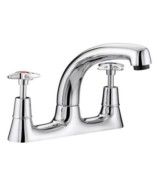 Bristan Value X-Head Deck Mounted Kitchen Sink Mixer Tap