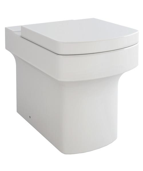 Pura Dekka Back-To-Wall WC Pan And Soft Close Seat 540mm