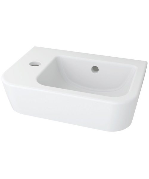 Pura Essence 1 Tap Hole 365mm Handrinse Basin