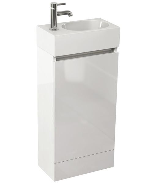 Pura Echo 400mm Floor Standing Single Door Unit And Basin
