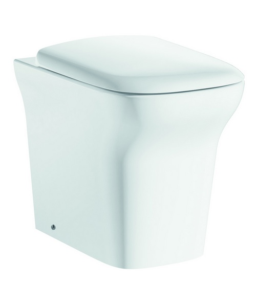 Pura Grace Back-To-Wall WC Pan And Soft Close Seat 540mm