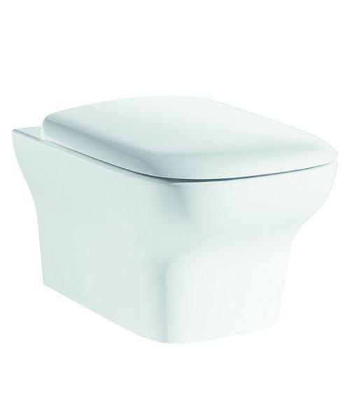 Pura Grace Wall Hung WC Pan And Soft Close Seat 500mm