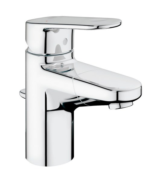 Grohe Europlus Single Lever Basin Mixer Tap With Pull Out Spout