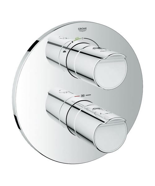 Grohe Grohtherm 2000 New Thermostat Valve Trim With Aquadimmer