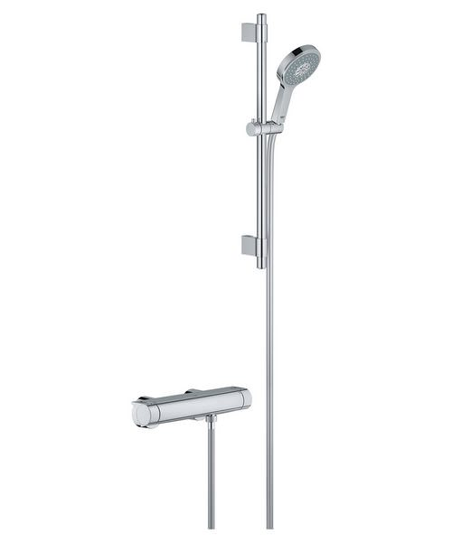 Grohe Grohtherm 2000 New Chrome Plated Thermostatic Shower Mixer Set