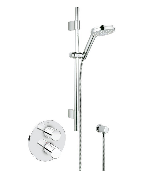 Grohe Grohtherm 3000 Cosmopolitan Concealed Thermostatic Shower Set