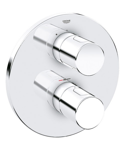 Grohe Grohtherm 3000 Cosmopolitan Thermostatic Shower Mixer Valve Chrome