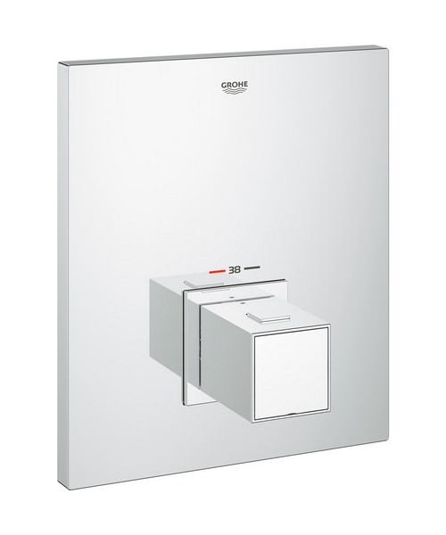 Grohe Grohtherm Cube Thermostatic Shower Valve Trim