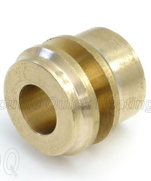 DQ Heating Micro-bore Reducer Brass 15mm x 8mm - Single