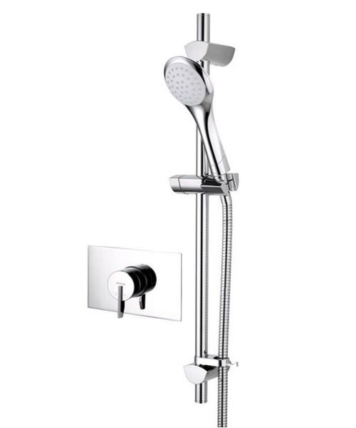 Bristan Sonique2 Recessed Shower Valve With Adjustable Riser Rail