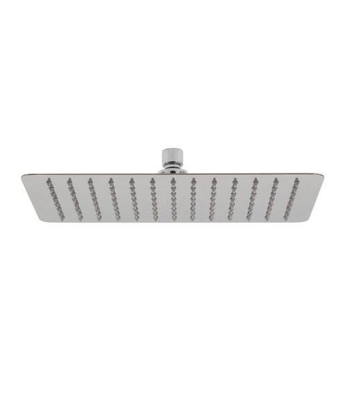 Vado Aquablade Slimline Rectangular Shower Head - W 300 x D 200mm
