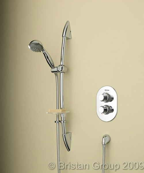 Artisan Thermostatic Recessed Shower Valve With Adjustable Riser