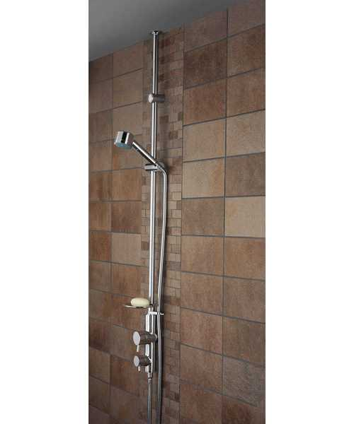Bristan Prism Twinline Thermostatic Shower Valve Chrome
