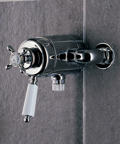 Bristan 1901 Thermostatic Surface Mounted Shower Valve Chrome