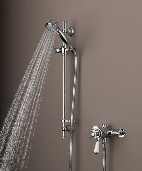 Bristan Regency Thermostatic Surface Mounted Shower Valve Chrome